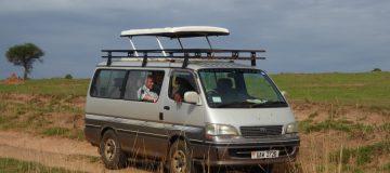 3 days Uganda safari vehicle