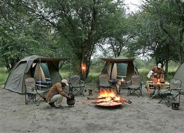 camping uganda