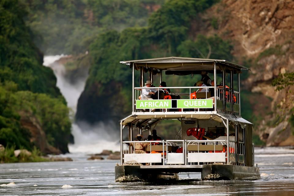 Visit the bottom of murchison falls