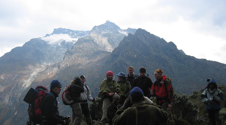 Rwenzori hiking