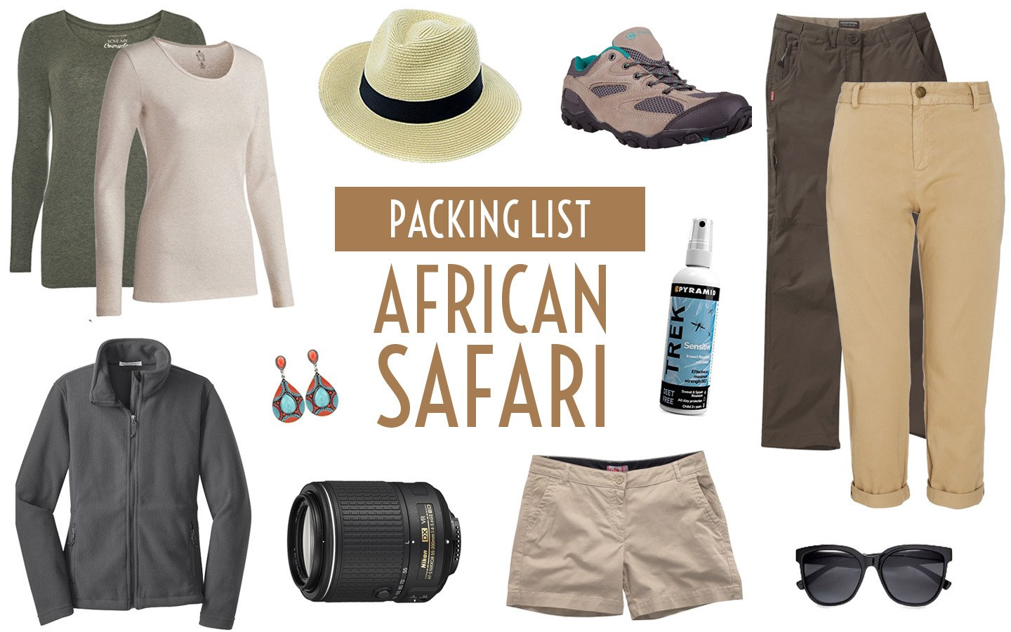 Packing List For African Safari